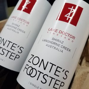 Zonte's Footstep Shiraz